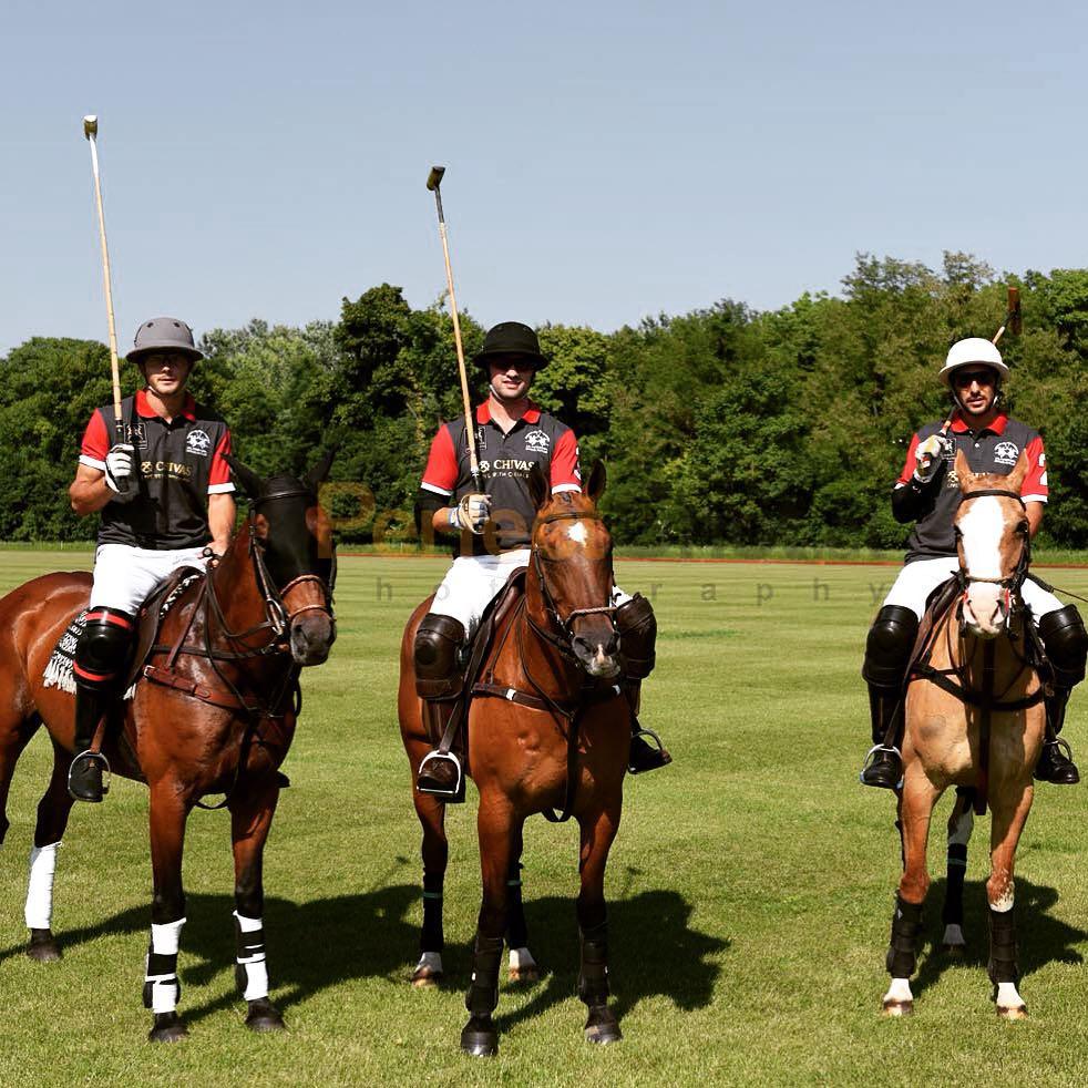 Breanden at a polo tournament in Slovakia